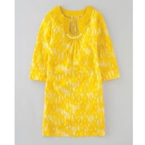 Boden - Yellow Tunic Dress or Cover-Up - Size 4